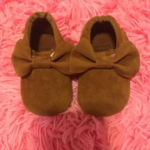Other - Brown baby Moccasins